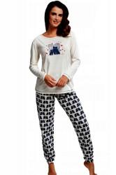 Dámske pyžamo 685/160 Two cats