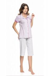 Dámske pyžamo 9050 fuchsia