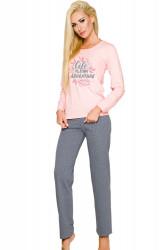 Dámske pyžamo Sylwia 286 pink