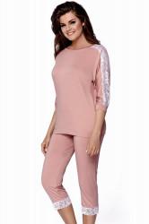 Dámske pyžamo Toscana peach