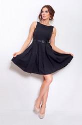 96653c1d19a5 Modré dámske šaty 1836 - Dámske elegantné šaty - Locca.sk