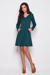 Dámske šaty K078 green