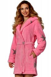Dámsky župan 8120 pink-onyx