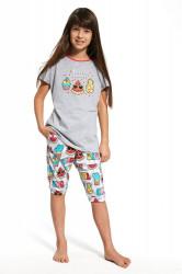 Dievčenské pyžamo 081/59 Hello summer