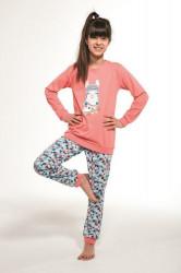 Dievčenské pyžamo 354/115 Young llama