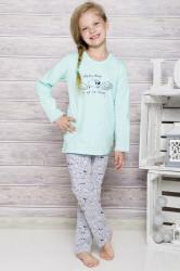 Dievčenské pyžamo 690 mint