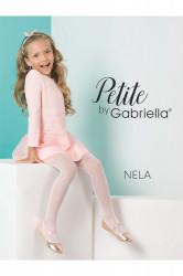 Dievčenské pyžamo 763 Nela white