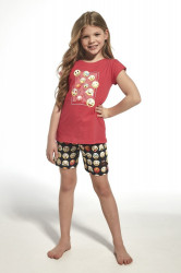 Dievčenské pyžamo 788/64 Young emoticon