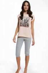 Dievčenské pyžamo Cornette pdz F&Y girl 581/22 city of...
