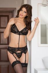 Erotická súprava Eliza black