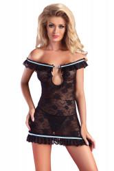 Erotické šaty Mija black