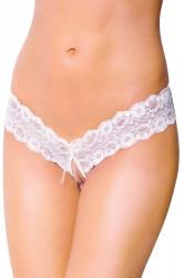 Erotické tangá 2456 white