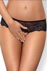 Erotické tangá Merossa crotchless panties