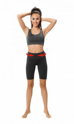 Fitness legíny Slimming shorts - middle