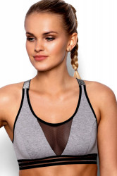 Fitness top  Ariela grey