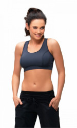 Fitness top  Hana II gray