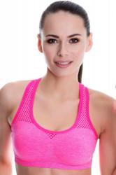 Fitness top  Sport skip pink