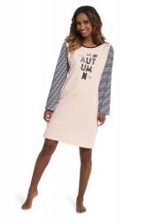Nočná košeľa Cornette kn 640/153 autumin 2 różowy
