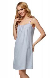 Nočná košeľa Dorita melange-pink