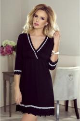 Nočná košeľa Lea plus black