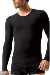 Pánske bezšvové prádlo LS 01120 Long sleeve black