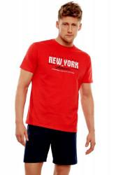 Pánske pyžamo  35734 red