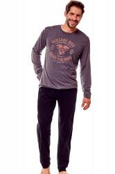 Pánske pyžamo 36202 Flame 90x graphite