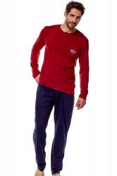 Pánske pyžamo 36213 Guru 33x red