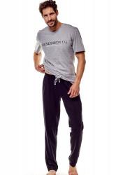 Pánske pyžamo 36214 Gale 90x graphite