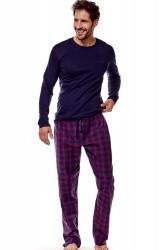 Pánske pyžamo 36216 Ghost 59x blue