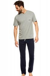 Pánske pyžamo 36829 Upon grey