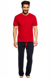 Pánske pyžamo 36829 Upon red