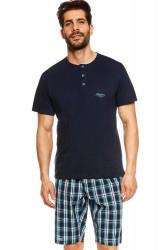 Pánske pyžamo 36830 Urge dark blue
