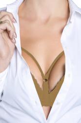 Ramienka Decollete 420 solo beige
