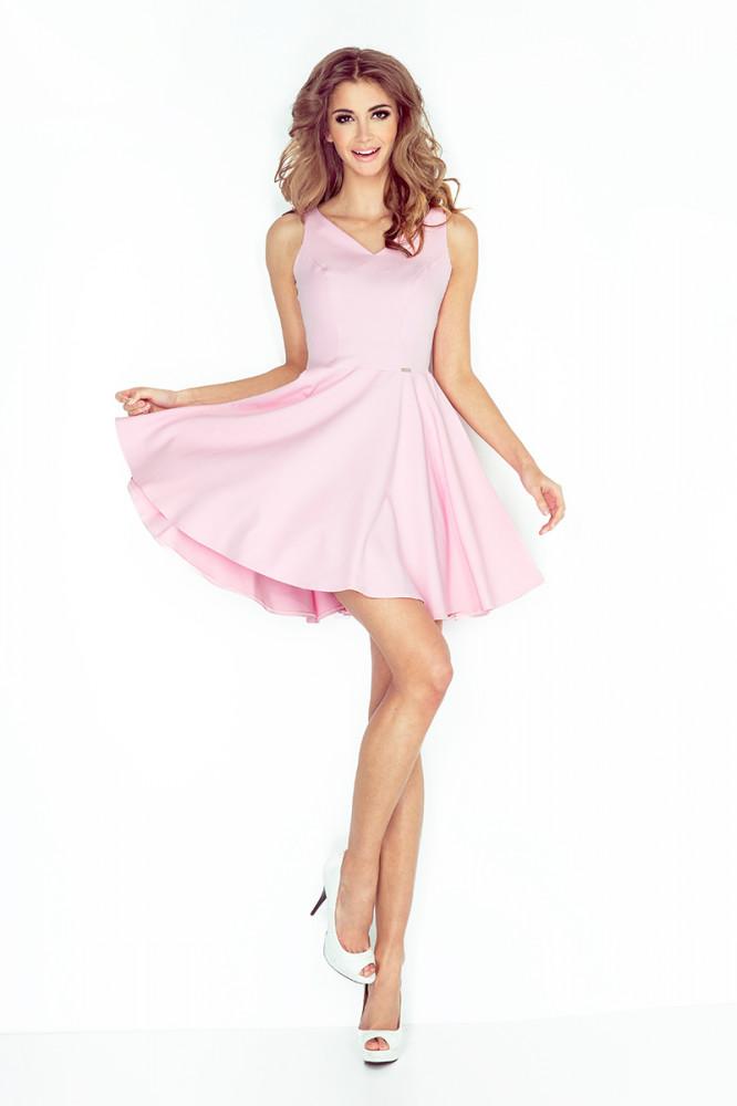 Dámske šaty 014-2 - Spoločenské šaty krátke - Locca.sk da0279e8c51