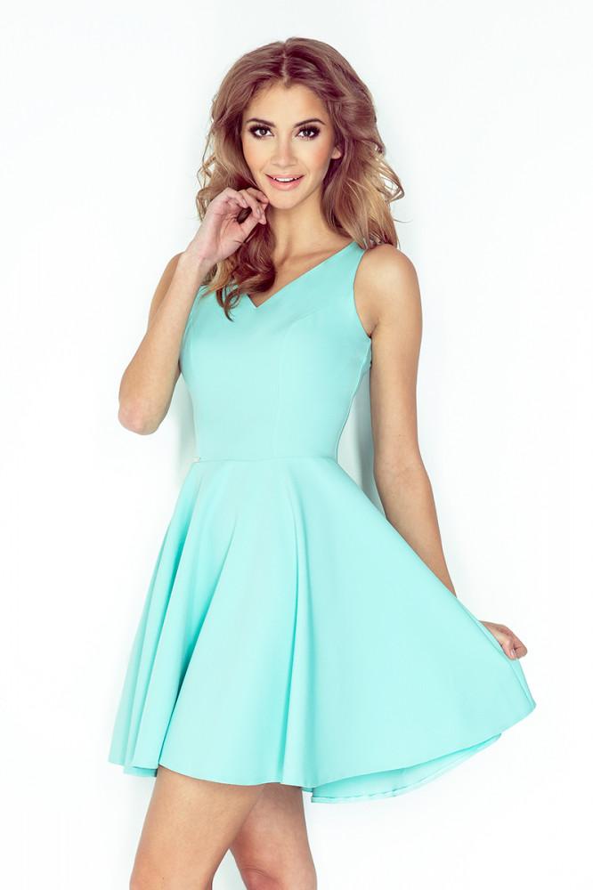 973ccf7a4e64 Dámske šaty 014-4 - Spoločenské šaty krátke - Locca.sk