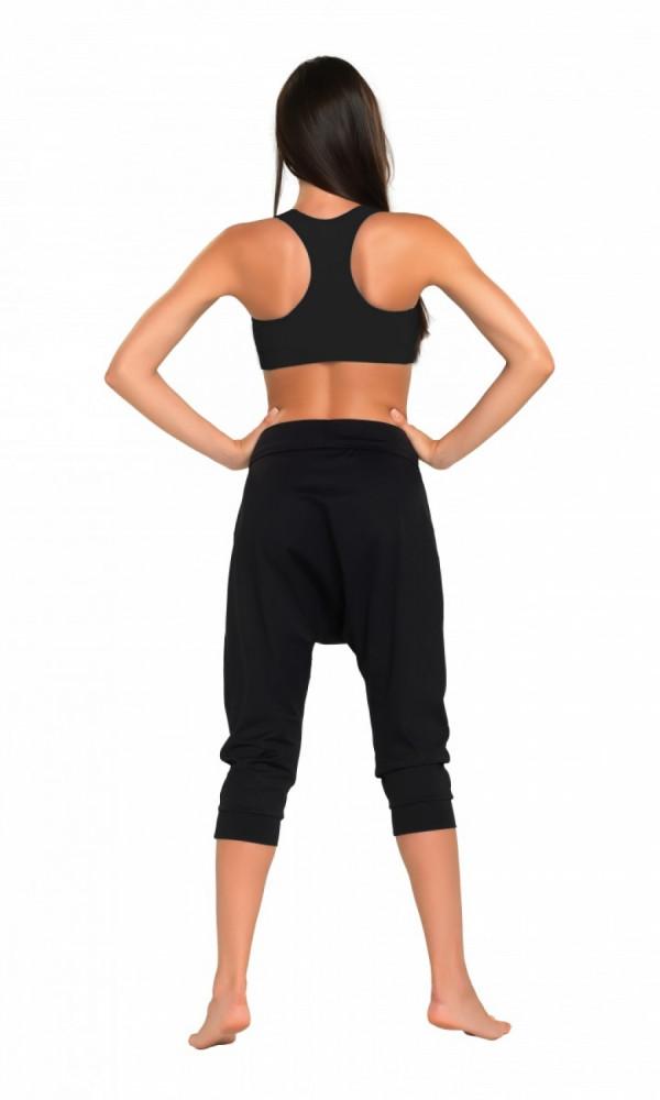 d06264f654c5 Fitness 3 4 nohavice Creola I black - Dámske športové nohavice ...
