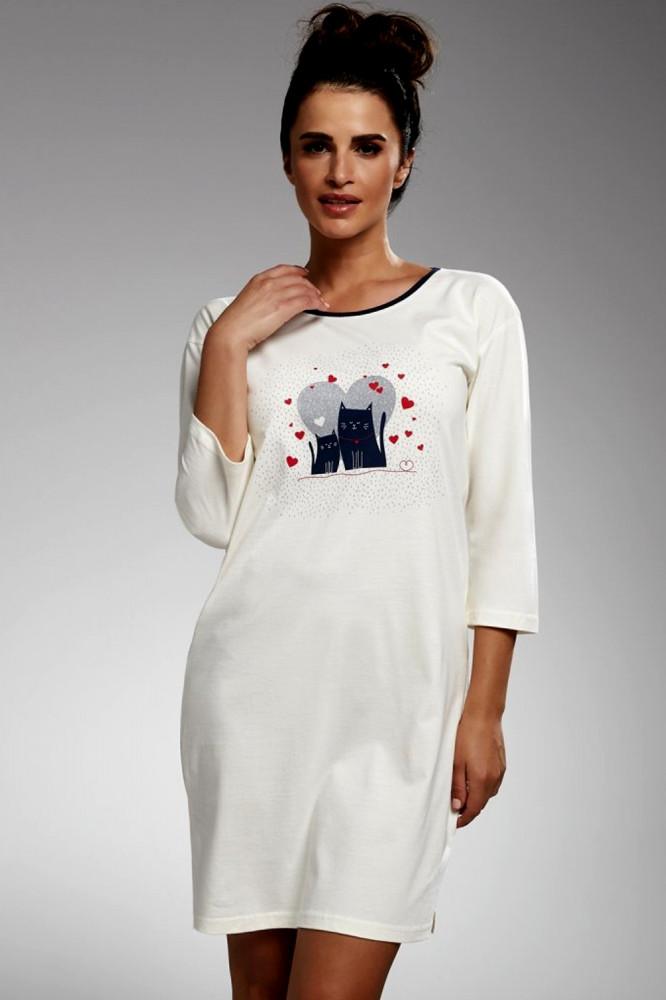 0dc280ee19a9 Nočná košeľa 641 187 Two cats - Dámske nočné košele - Locca.sk
