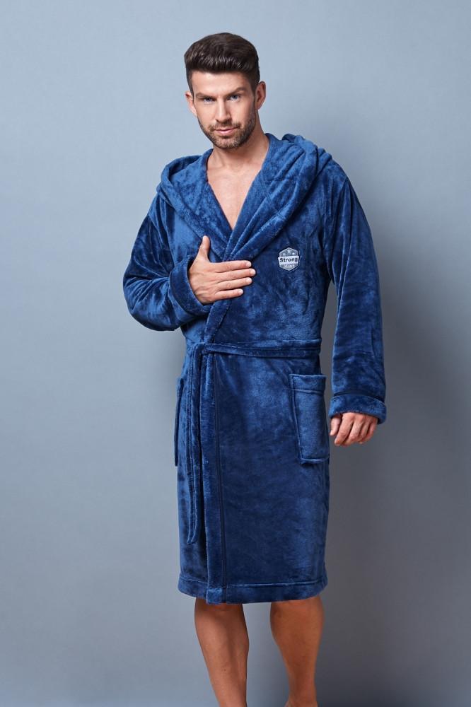 Pánsky župan 7105 blue