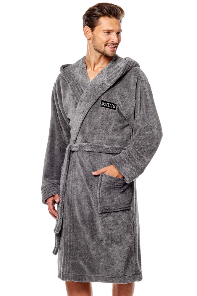 Pánsky župan 8130 grey