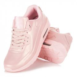Dámske ružové štýlové športové tenisky