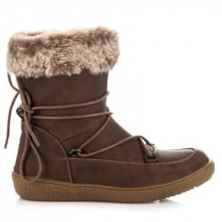 Dámske zimné zimné topánky s vyťahovacím zariadením