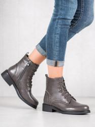 Dizajnové  dámske  členkové topánky