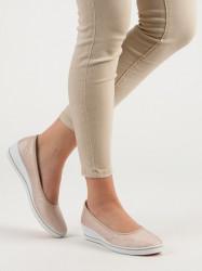 Dizajnové dámske hnedé  tenisky na kline #4