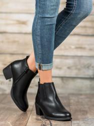Jedinečné dámske  členkové topánky