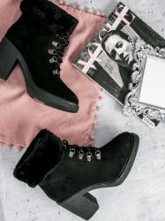Komfortné dámske   členkové topánky