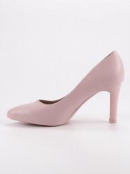 Komfortné  lodičky dámske ružové na ihlovom podpätku #6