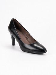 Krásne dámske čierne  lodičky na ihlovom podpätku #2