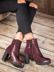 Luxusné dámske   členkové topánky