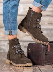 Módne dámske   členkové topánky